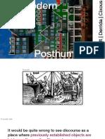 Postmodern Posthumans