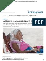 NAPALPI Argentina_ La última voz de la masacre indígena de Napalpí _ Argentina _ EL PAÍS.pdf