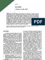 Fonoaudiologia Saúde Pública