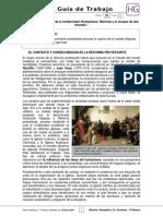 Guia Trabajo Historia -Reforma Protestante