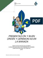 Presentacion y Buen Orden en La Manada