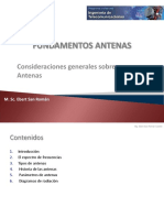 Fundamento de Antenas- Introduccion