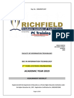 Assignment Booklet 2019-Bsc (2nd Year) Se Elective