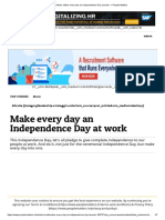 Article_ Make Every Day an Independence Day at Work — People Matters