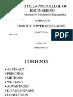Osmotic Power Ajay