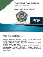 1. Prinsip Dasar Proses Konversi Energi