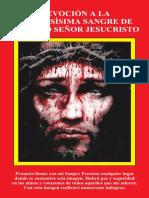 DEVOCIÓN A LA PRECIOSÍSIMA SANGRE DE NUESTRO SEÑOR JESUCRISTO Libro Getsemani