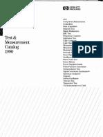 HP-Catalog-1990 pdf | Modulation | Microwave