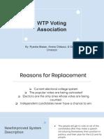 wtp voting association dra