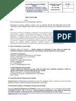 Plan de Management de Mediu Roata Mica