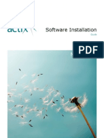 Actix Software Installation Guide May 2009