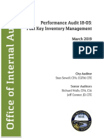 City of Chattanooga Fuel Key Audit