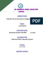 TAREA III  LITERATURA ANTIGUA Y MEDIAVAL.docx