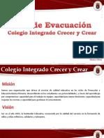 Plan de Evacuacion, Colegio Integrado Crecer y Crear.pptx