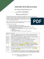 Cisco CCENT-CCNA ICND1 100-105 Official Cert Guide Errata