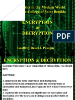 Encryption & Decryption for Upload