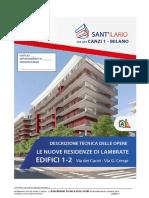 Descrizione Delle Opere Edificio a1a2 Canzi