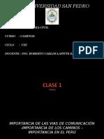 CAMINOS - CLASES.pptx