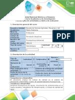 Guía de actividades y rúbrica de evaluación - Fase 3 - Agua.docx