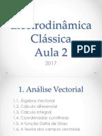 Aula 02 Electrodinamica Classica
