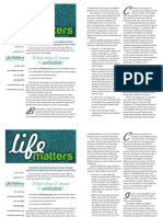 Life Matters Volume 18 Number 3