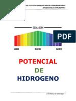 Potencial de Hidrogeno
