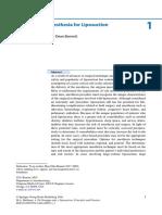 Bennett2016 Chapter AnesthesiaForLiposuction