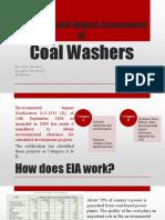 EIA Coal Washers