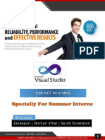 6 Weeks Summer Training ASP.net