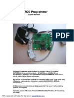 x Prog m Ecu Programmer v5.50 Users Manual