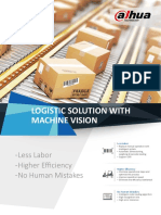 2018 V1 Dahua Logistic Solution With Machine Vision(16P) 0530