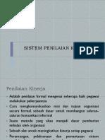 6. Sistem Penilaian Kinerja