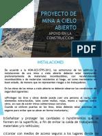 Presentación consideraciones en un proyecto de construcción de instalaciones mineras