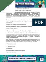 Evidencia 5 Afiche Mision Vision y Valores Corporativos