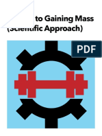 10 Tips for Gaining Mass Scientific Approach