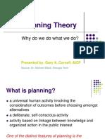 Planning Theory,Dr Micahel Elliot, Georgia Tech