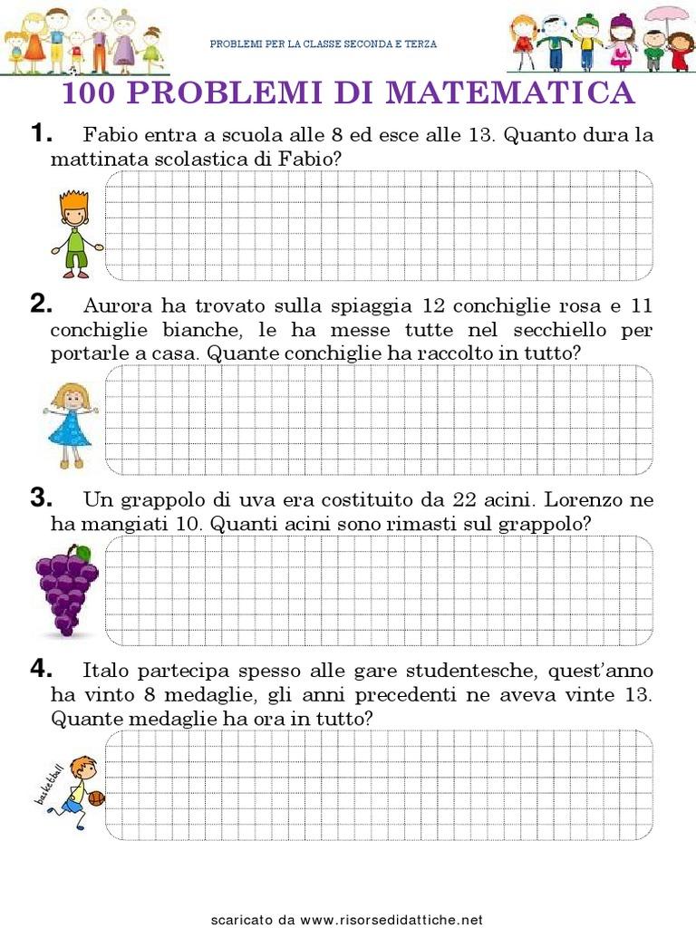 100 Problemi Di Matematica: www.matematicamente.it ...