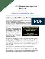 Demoliendo Argumentos de Seguridad Eterna.docx
