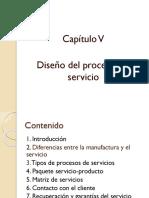 Cap v Diseño Del Proceso Del Servicio (1)