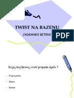 Twist Na Bazenu-kviz