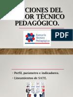 Funciones Del Asesor Técnico Pedagógico