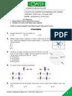 Subiect Comper Matematica EtapaII 2018 2019 ClasaII