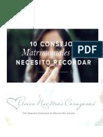 10 Consejos Matrimoniales Que Necesito Recordar