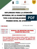 TEMA N°42  VIII-16-42 MANUAL REGISTRO HIS DIABETES OPS