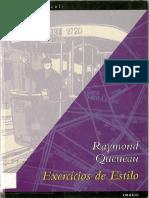 QUENEAU, Raymond - Exercícios de Estilo