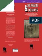 CHDDP2 La Mazza dell'Infermità (Dangers & Demons) Copertina