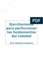 Ejercitaciones Para Perfeccionar Los Fundamentos Del Voleibol, Roberto Ledesma