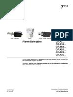 Techrite Siemens Siemens Qra Uv Flame Detection 013060323409