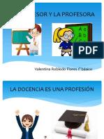 La Profesora disertación Fpptx