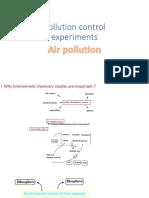 Pollution Control Experiments